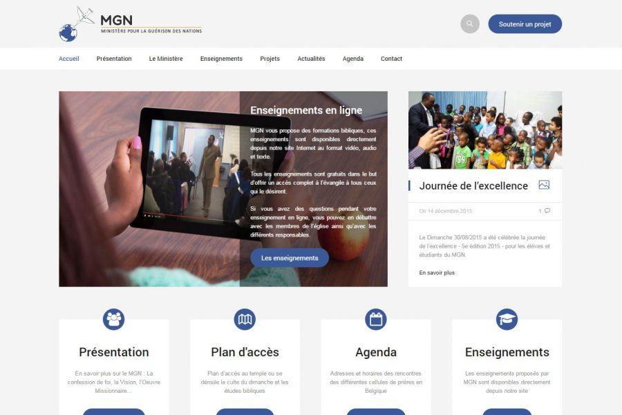 Site Internet de MGN - Eglise