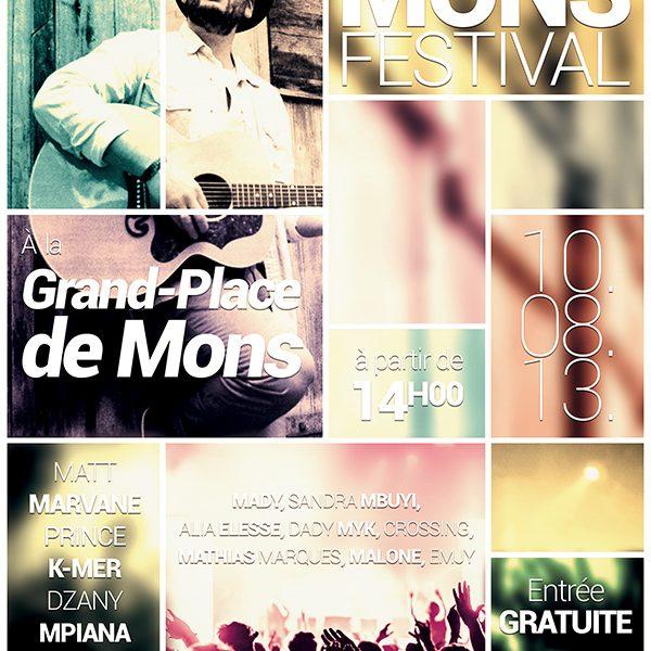 Affiche - Pharefm - gospel mons festival