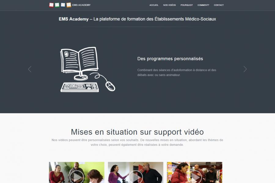 Site Internet - EMS-Academy