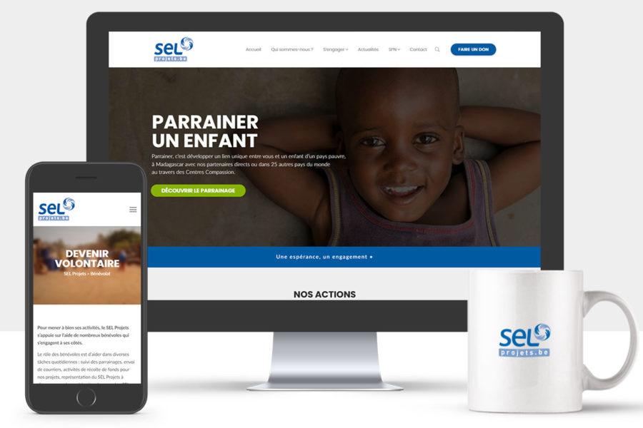 Site Internet du SEL Projets