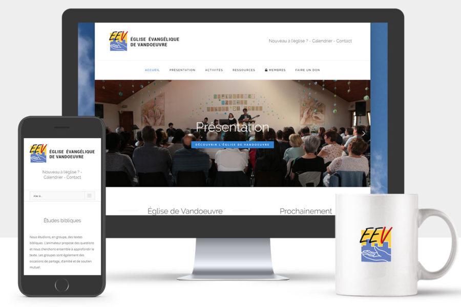 Site Internet de l'Église de Vandoeuvre