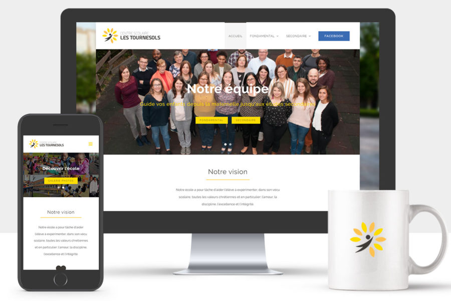 Site Internet de l'école Les Tournesols