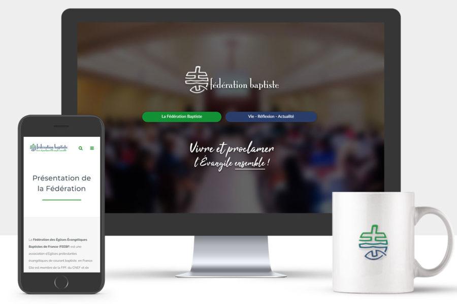 Site Internet de la Fédération Baptiste
