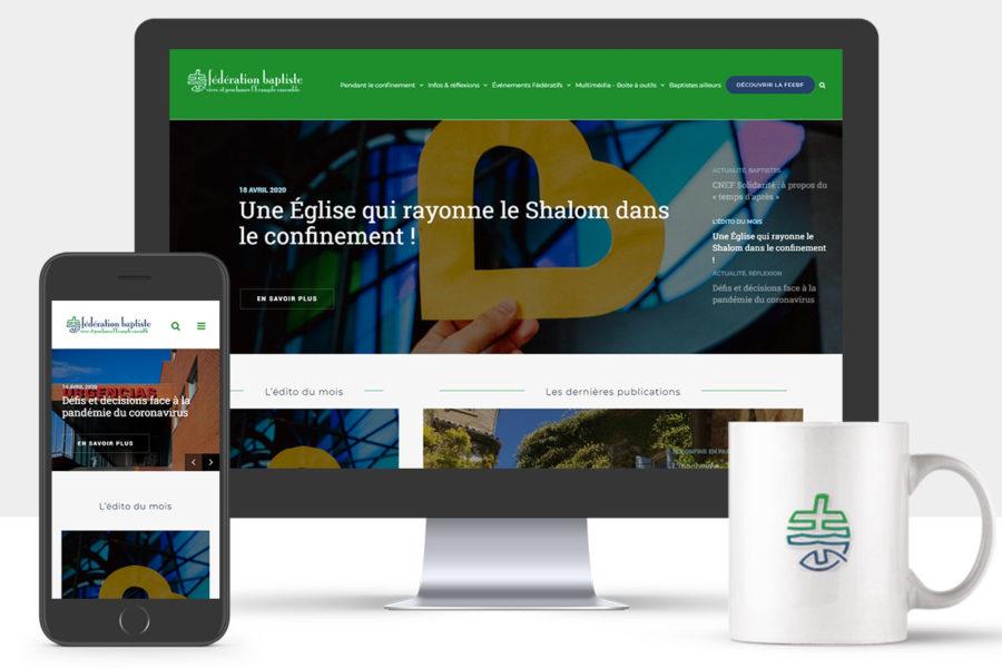 Le site Internet de la section actualités de Fédération Baptiste