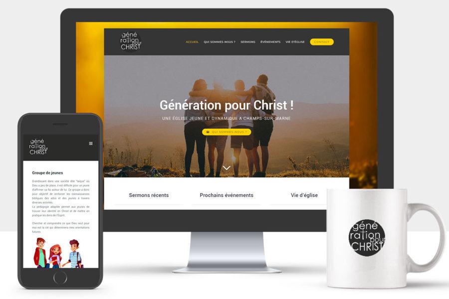 Site Internet de Génération Pour Christ