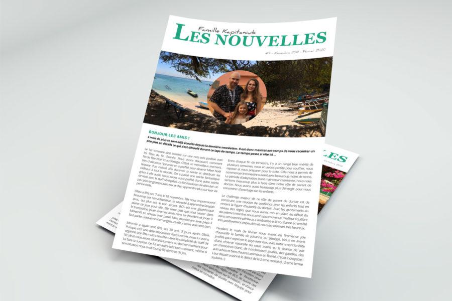 Newsletter - Mission au Sénégal