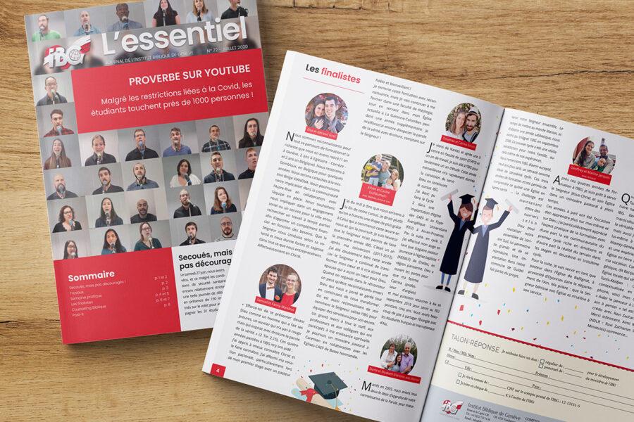 Journal l'Essentiel - IBG